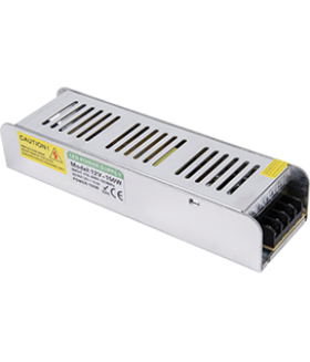 Ecola LED strip Power Supply 150W 220V-12V IP20 плоский и узкий блок питания для светодиодной ленты