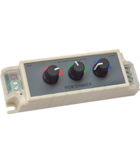 Ecola LED strip RGB Controller (Dimmer) 9A 108W 12V (216W 24V) c ручками для управления
