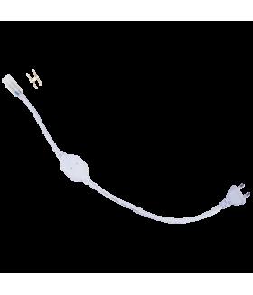 Ecola LED strip 220V блок питания (IP20) 700W для ленты 220V 12x7 IP68 с кабелем, муфтой, разъемом и вилкой