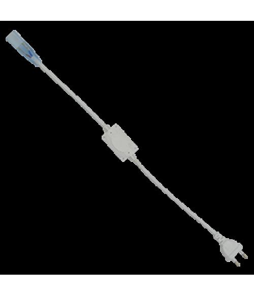 Ecola LED strip 220V блок питания (IP20) 1500W для ленты 220V 14x7 IP68 с кабелем, муфтой, разъемом и вилкой