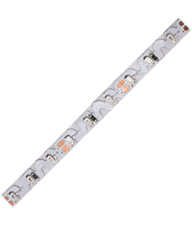 Ecola LED strip PRO-S 7,2W/m 12V IP20 8mm 72Led/m Blue синяя S-гибкая светодиодная лента на катушке 5м.