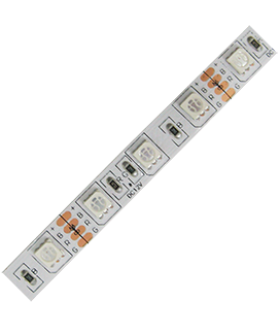 Ecola LED strip PRO 14.4W/m 12V IP20 10mm 60Led/m RGB разноцветная светодиодная лента на катушке 3м.