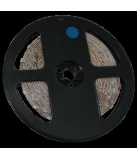 Ecola LED strip STD 4,8W/m 12V IP20 8mm 60Led/m Blue синяя светодиодная лента на катушке 5м.
