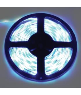 Ecola LED strip STD 4,8W/m 12V IP20 8mm 60Led/m 6000K 4Lm/LED 240Lm/m светодиодная лента на катушке 5м.