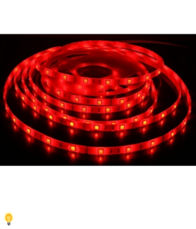 LED лента SMD 2835/60 Smartbuy-IP65-4.8W/Red 5 м. (SBL-IP65-4_8-Red)