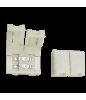 Ecola LED strip connector разъем зажимной 2-х конт. 8 mm уп. 5 шт.