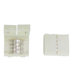 Ecola LED strip connector разъем зажимной 4-х конт. 10 mm уп. 5 шт.