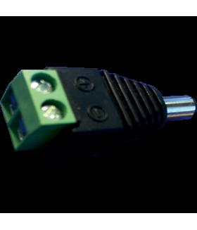 Ecola LED strip connector переходник с разъема штырькового (папа) на колодку под винт уп. 3 шт.