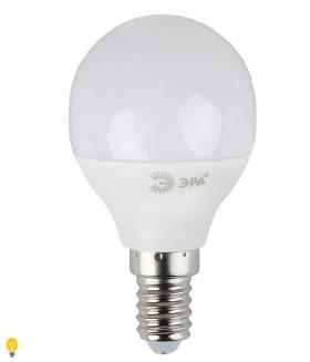 Светодиодная лампа ЭРА LED smd Р45-6w-827-E14_eco