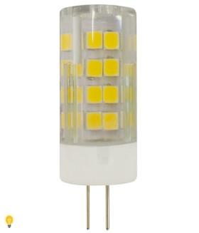 Светодиодная лампа ЭРА LED smd JC-3,5w-220V-corn, ceramics-827-G4