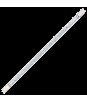 Ecola T8 Premium G13 LED 12,5W 220V 6500K с поворотными цоколями (прозрачное стекло) 605x28 (упак.инд.цв./8/24)