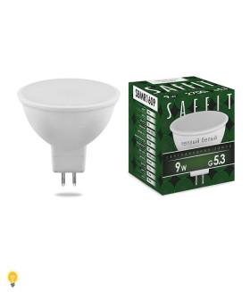 Лампа светодиодная SAFFIT SBMR1609 MR16 GU5.3 9W 2700K 55084