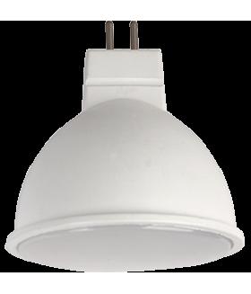Ecola Light MR16 LED 5,0W 220V GU5.3 2800K матовое стекло (композит) 48x50