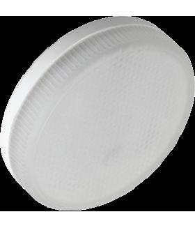 Ecola Light GX53 LED 6,0W Tablet 220V 2800K 27x75 матовое стекло 30000h (1 из ч/б уп. по 10)