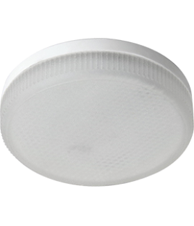 Ecola Light GX53 LED 8,0W Tablet 220V 4200K 27x75 матовое стекло 30000h