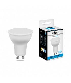 Лампа светодиодная Feron LB-26 GU10 7W 6400K 25291