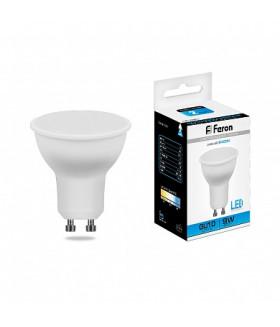 Лампа светодиодная Feron LB-560 MR16 GU10 9W 6400K 25844