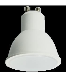 Ecola Reflector GU10 LED 8,0W 220V 4200K матовое стекло (композит) 57x50