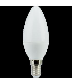 Ecola candle LED 6,0W 220V E14 2700K свеча (композит) 101x37