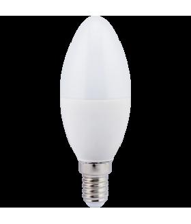 Ecola candle LED 7,0W 220V E14 2700K свеча (композит) 110x37