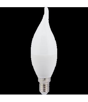 Ecola candle LED Premium 7,0W 220V E14 4000K свеча на ветру (композит) 130x37