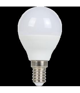 Ecola globe LED 7,0W G45 220V E14 6500K шар (композит) 82x45