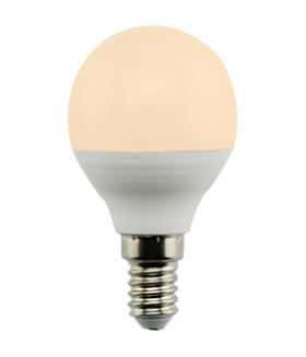 Ecola globe LED Premium 7,0W G45 220V E14 золотистый шар (композит) 77x45
