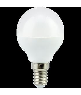 Ecola globe LED Premium 5,4W G45 220V E14 4000K шар (композит) 77x45