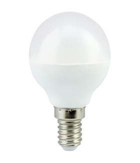 Ecola globe LED Premium 5,4W G45 220V E14 2700K шар (композит) 77x45