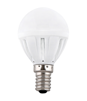Ecola Light Globe LED 7,0W G45 220V E14 2700K шар (композит) 82x45 (1 из ч/б уп. по 4)