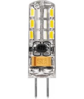 Лампа светодиодная, (2W) 12V G4 2700K, LB-420