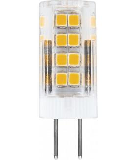 Лампа светодиодная, (5W) 230V G4 2700K, LB-432