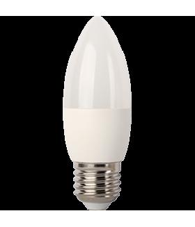 Ecola candle LED 7,0W 220V E27 6000K свеча (композит) 103x37