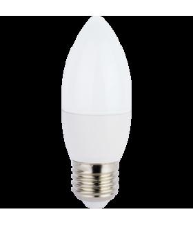 Ecola candle LED 7,0W 220V E27 4000K свеча (композит) 103x37