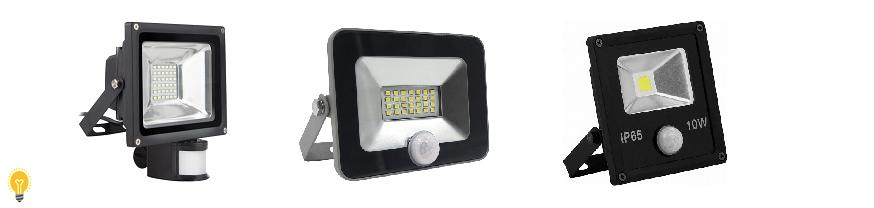 Светодиодные прожекторы с датчиком