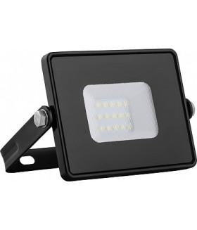Прожектор светодиодный 2835 SMD 10W 4000K IP65 AC220V/50Hz, черный с матовым стеклом , LL-918
