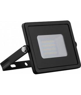 Прожектор светодиодный 2835 SMD 30W 4000K IP65 AC220V/50Hz, черный с матовым стеклом , LL-920