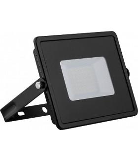 Прожектор светодиодный 2835 SMD 50W 4000K IP65 AC220V/50Hz, черный с матовым стеклом , LL-921
