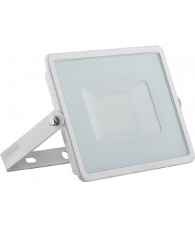 Прожектор светодиодный 2835 SMD 50W 6400K IP65 AC220V/50Hz, белый с матовым стеклом , LL-921