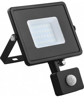 Светодиодный прожектор Feron с датчиком LL-906 IP44 20W 6400K 29556