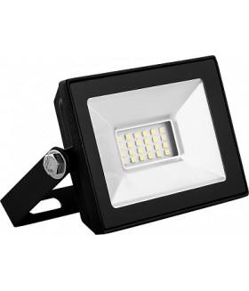 Прожектор светодиодный 2835SMD, 10W 6400K AC220V/50Hz IP65, черный в компактном корпусе, SFL90-10
