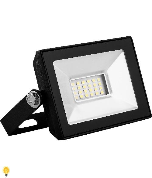 Светодиодный прожектор SAFFIT SFL90-10 IP65 10W 4000K черный 55074