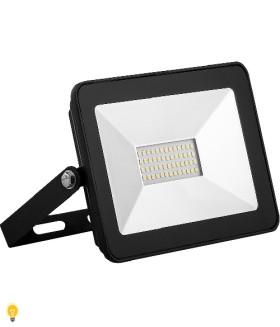 Светодиодный прожектор SAFFIT SFL90-30 IP65 30W 4000K черный 55076