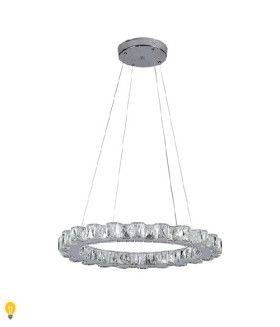 Светодиодная люстра (LED) SmartbuyCrystal1601-25W/4K (SBL-CR-25W-1601-4K)