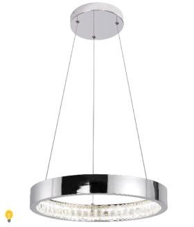 Светодиодная люстра (LED) Smartbuy Подвесная Хром 8916 32W 4000K (SBL-PL-32W-8916-4K)