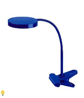 Светодиодный настольный светильник NLED-435-4W-BU синий