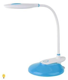 Светодиодный настольный светильник ЭРА NLED-459-9W-BU синий