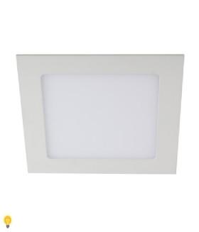 Светильник ЭРА светодиодный квадратный LED 18W 220V 6500K LED 2-18-6K