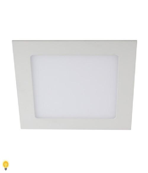 Светильник ЭРА светодиодный квадратный LED 24W 220V 4000K LED 2-24-4K
