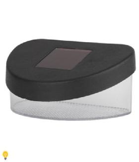 Садовый светильник на солнечной батарее, пластик, черный, 5,5 см SL-PL8-MNT1 ЭРА